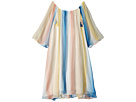 Chloe Kids Mini Me Couture Dress Rainbow Striped (Little Kids/Big Kids)