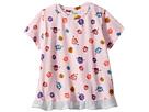 Fendi Kids Fendi Kids Short Sleeve Fur Monster Print T-Shirt (Infant)