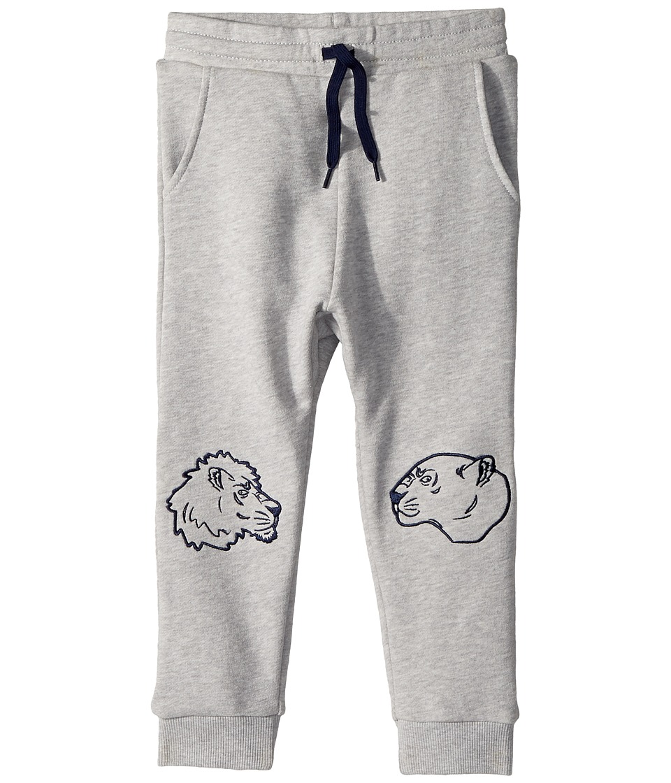 Kenzo Kids - Tiger Sweatpants (Toddler) (Marl Grey) Boys Fleece