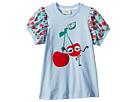 Fendi Kids Fendi Kids Cherry Graphic T-Shirt w/ Cherry Sleeves (Toddler)
