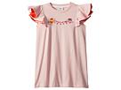 Fendi Kids Fendi Kids Ruffle Sleeve Logo Pom Pom Graphic T-Shirt (Little Kids)