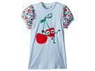 Fendi Kids Fendi Kids Cherry Graphic T-Shirt w/ Cherry Sleeves (Little Kids)