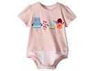 Fendi Kids Fendi Kids Short Sleeve Bodysuit w/ Ice Cream Design (Infant)