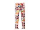 Fendi Kids Fur Monster Print Leggings (Little Kids)