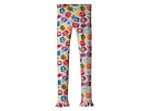 Fendi Kids Fur Monster Print Leggings (Big Kids)