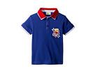 Fendi Kids Fendi Kids Short Sleeve Polo T-Shirt w/ Football Design On Front (Toddler)