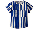 mini rodini Odd Stripe Baseball T-Shirt (Infant/Toddler/Little Kids/Big Kids)
