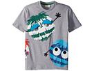 Fendi Kids Fendi Kids Short Sleeve Logo Fur Monster Graphic T-Shirt (Little Kids)