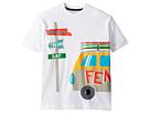 Fendi Kids Fendi Kids Short Sleeve Logo Surf Van Graphic T-Shirt (Little Kids)