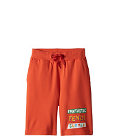 'Fantastic Fendi Colours' Jogging Shorts  Orange
