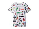 Kenzo Kids Tee Shirt Food Print (Big Kids)
