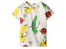 mini rodini Veggie All Over Print Short Sleeve T-Shirt (Infant/Toddler/Little Kids/Big Kids)