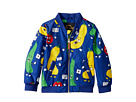 mini rodini Veggie Baseball Jacket (Infant/Toddler/Little Kids/Big Kids)
