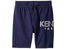 Kenzo Kids Logo Shorts (Big Kids)