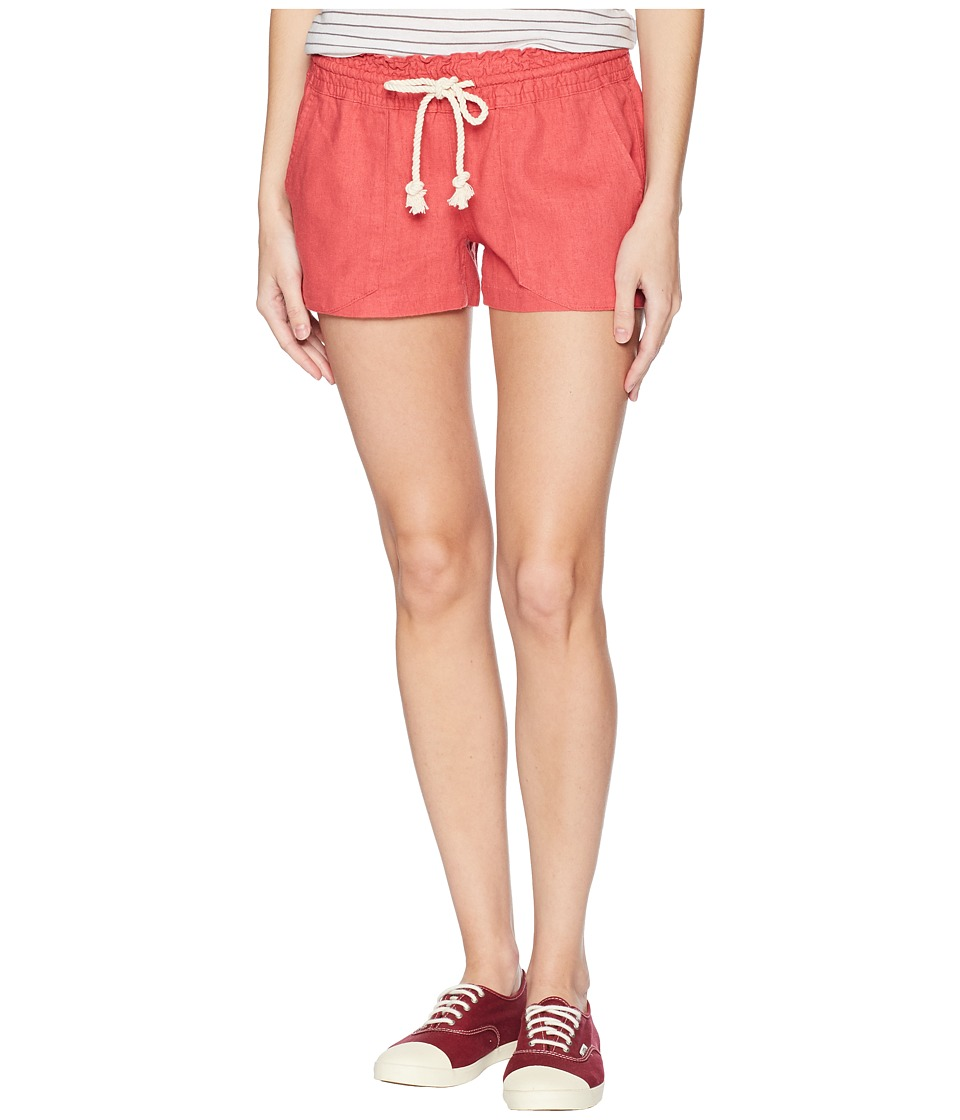 Roxy - Oceanside Shorts (Holly Berry) Womens Shorts