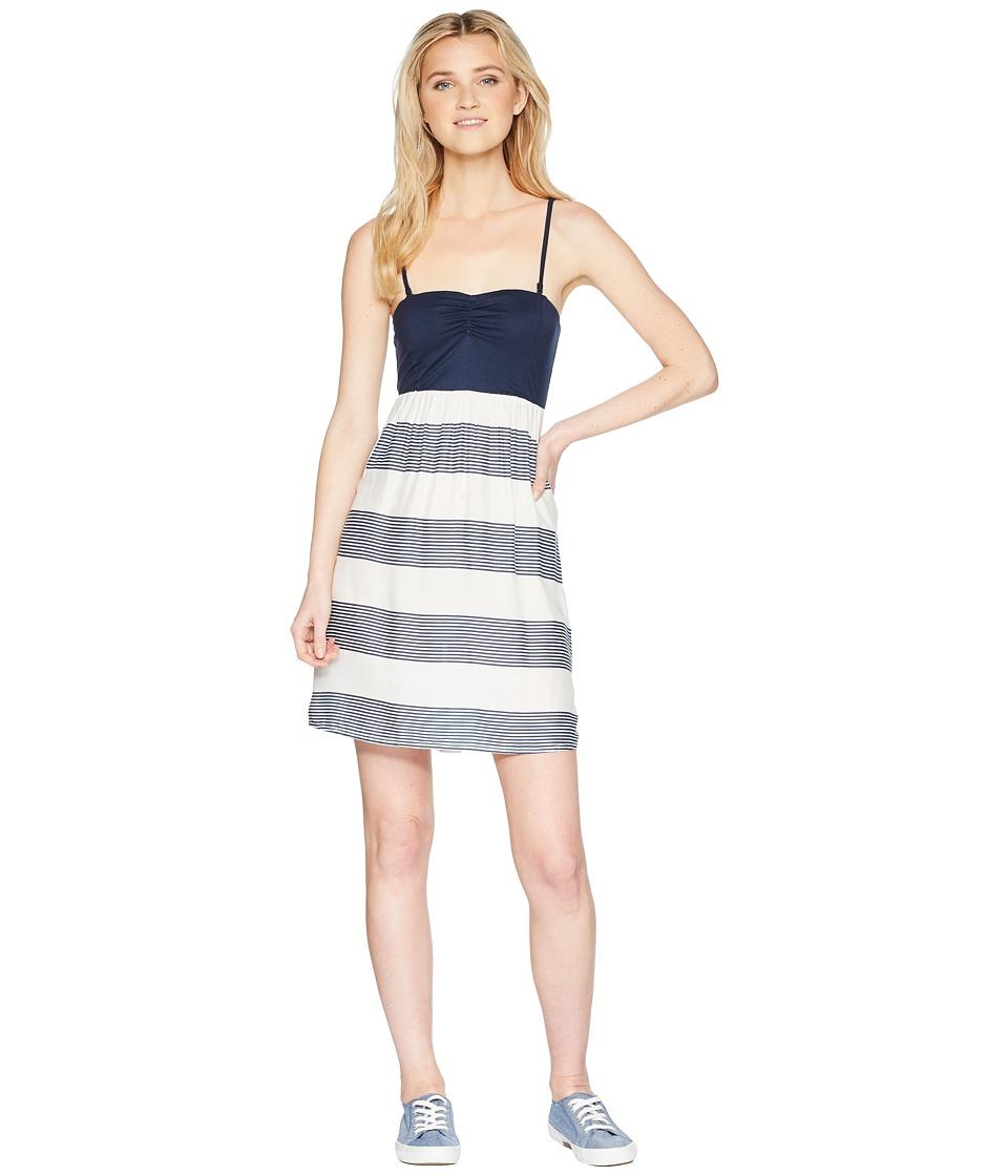 Roxy Ocean Romance (Marshmallow Dress Blue Docker) Women'...