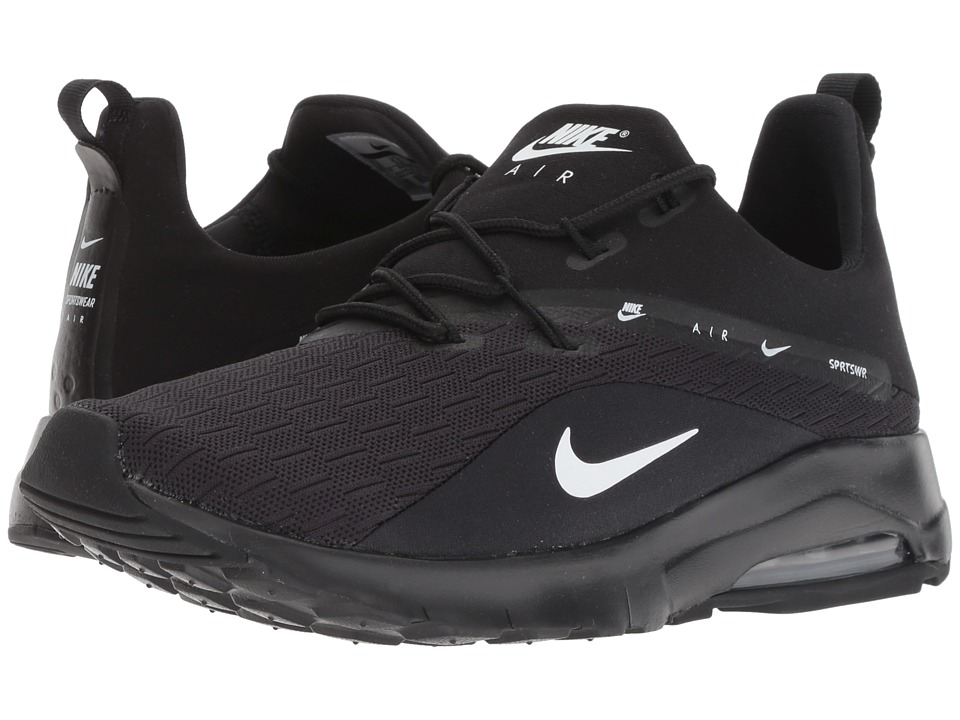 Nike Air Max Motion Racer 2 (Black/White) Women's Shoes