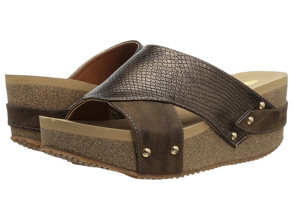 VOLATILE - Caseda (Bronze) Womens Wedge Shoes