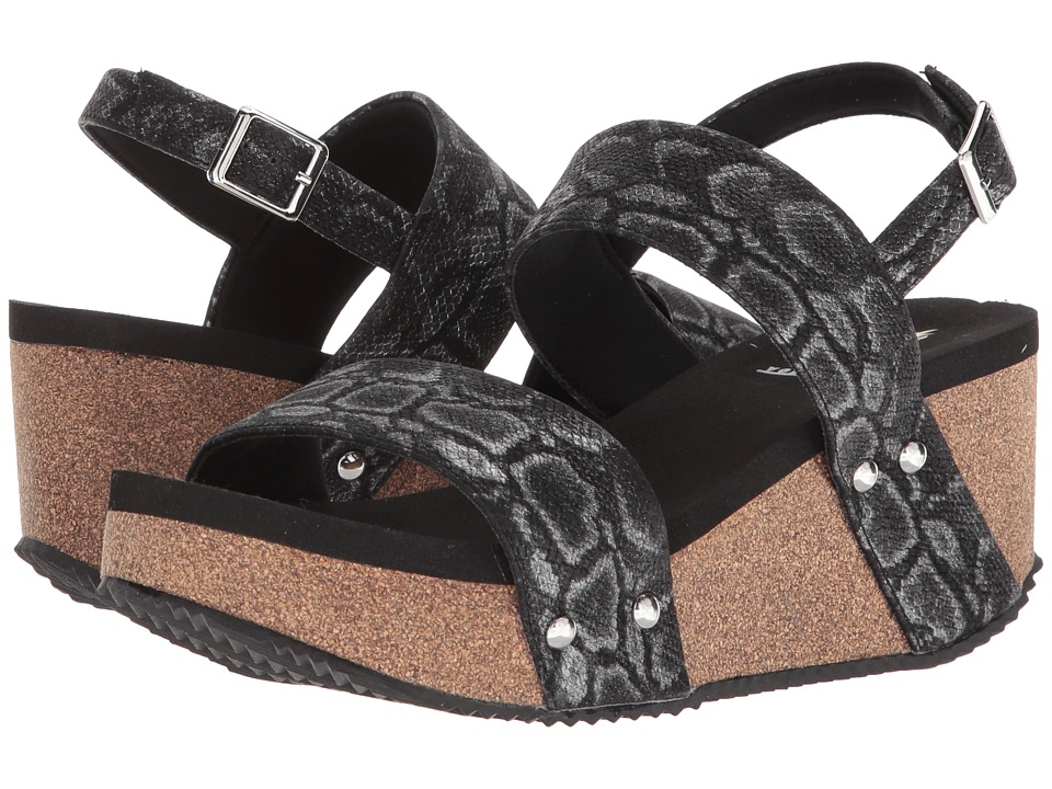 VOLATILE - Paolina (Black) Womens Wedge Shoes