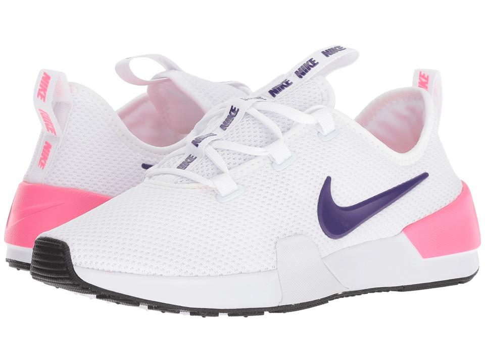 Nike Ashin Modern (White/Court Purple/Laser Pink/Wolf Grey) Women's Classic Shoes