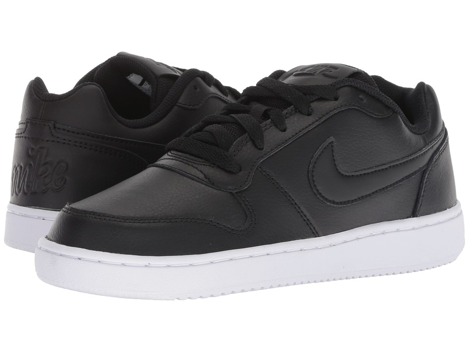 Nike Ebernon Low (Black/Black/White) Women's Shoes