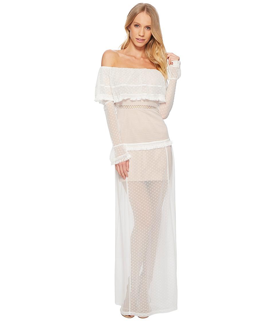 The Jetset Diaries - Gardenia Maxi Dress (Ivory) Womens Dress