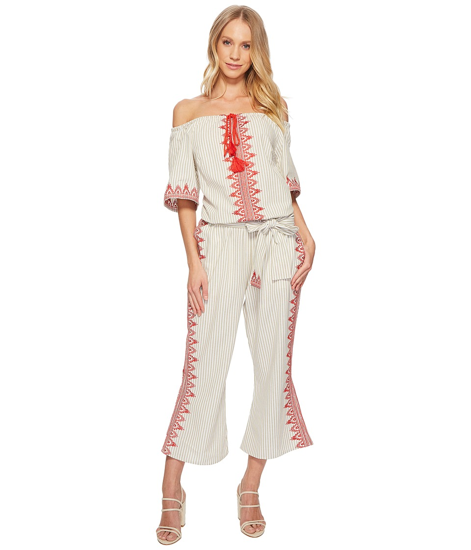 The Jetset Diaries - Essence Jumpsuit (Stripe) Womens Jumpsuit & Rompers One Piece