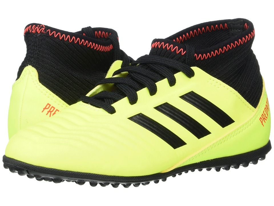 adidas Kids Predator Tango 18.3 TF Soccer (Little Kid/Big Kid) (Yellow/Black/Red) Kids Shoes