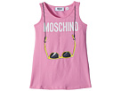 Moschino Kids Logo Sunglasses Graphic Tank Top (Little Kids/Big Kids)