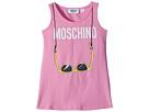 Moschino Kids Logo Sunglasses Graphic Tank Top (Little Kids/Big Kids)