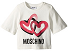 Moschino Kids Logo Heart Graphic T-Shirt (Little Kids/Big Kids)