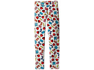 Moschino Kids All Over Logo Heart Print Leggings (Little Kids/Big Kids)