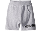 Moschino Kids Sweatshorts w/ Front Pocket Logo Detail (Little Kids/Big Kids)