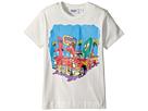 Moschino Kids Short Sleeve Car at Diner Graphic T-Shirt (Little Kids/Big Kids)