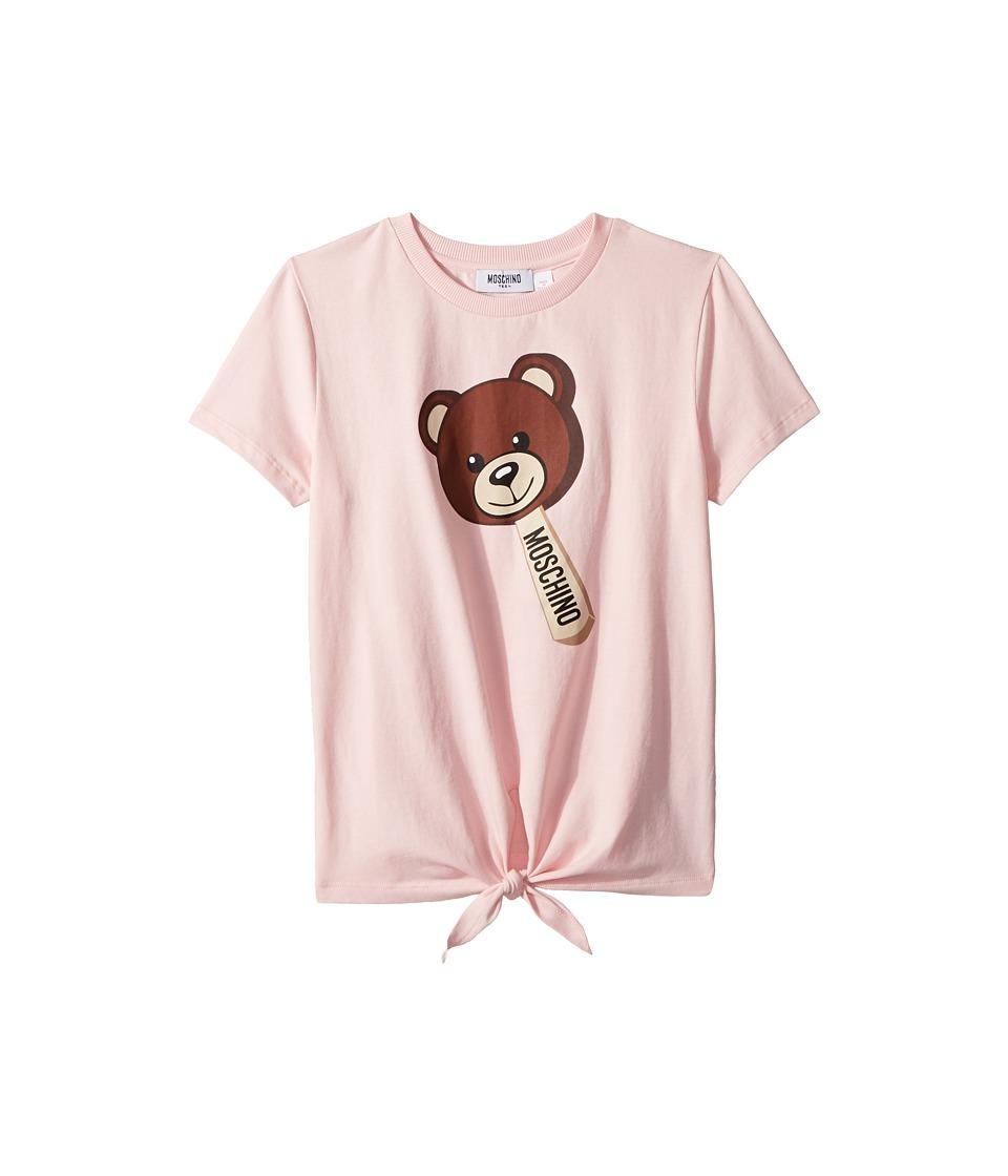 Moschino Kids - Short Sleeve Teddy Bear Graphic T-Shirt w...