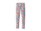 Moschino Kids All Over Logo Heart Print Leggings (Big Kids)