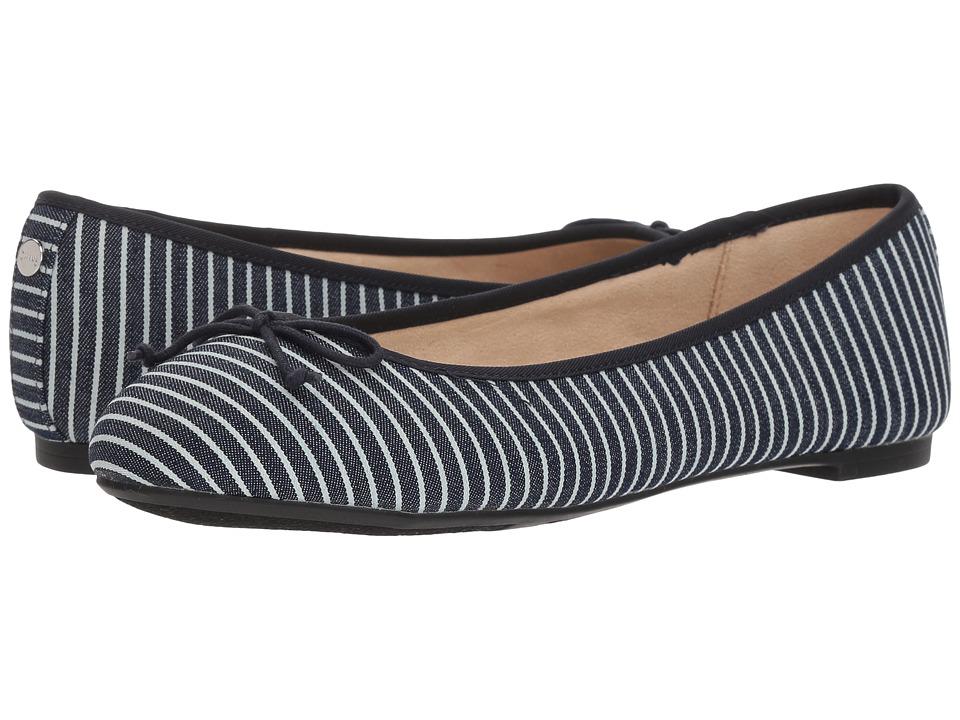 Circus by Sam Edelman Charlotte (Navy/White Denim Stripe) Women's Shoes