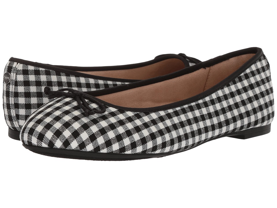 Circus by Sam Edelman Charlotte (Black/White Gingham) Women's Shoes