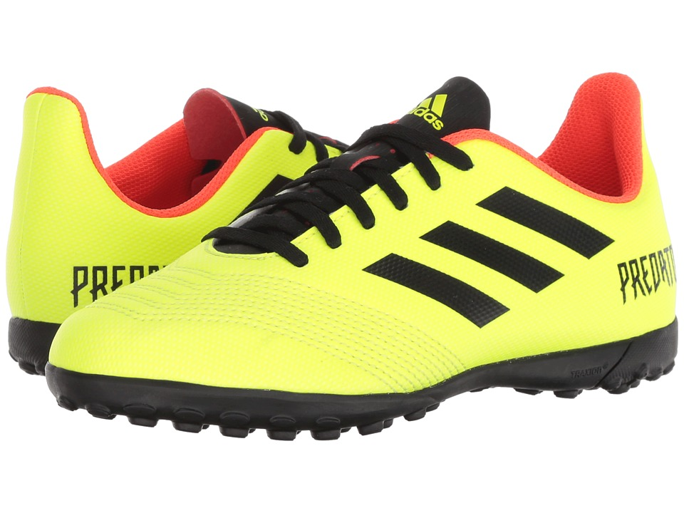 adidas Kids Predator Tango 18.4 TF Soccer (Little Kid/Big Kid) (Yellow/Black/Red) Kids Shoes