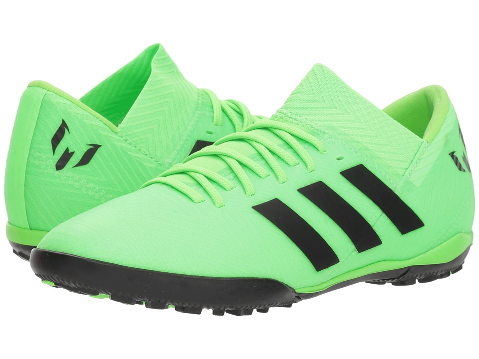adidas Kids Nemeziz Messi Tango 18.3 TF Soccer (Little Kid/Big Kid) (Zest/Black/Red) Kids Shoes