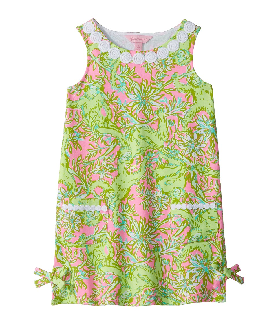 Lilly Pulitzer Kids Little Lilly Classic Shift (Toddler/Little Kids/Big Kids) (Pelican Pink Pop Up Chimply Chic) Girl