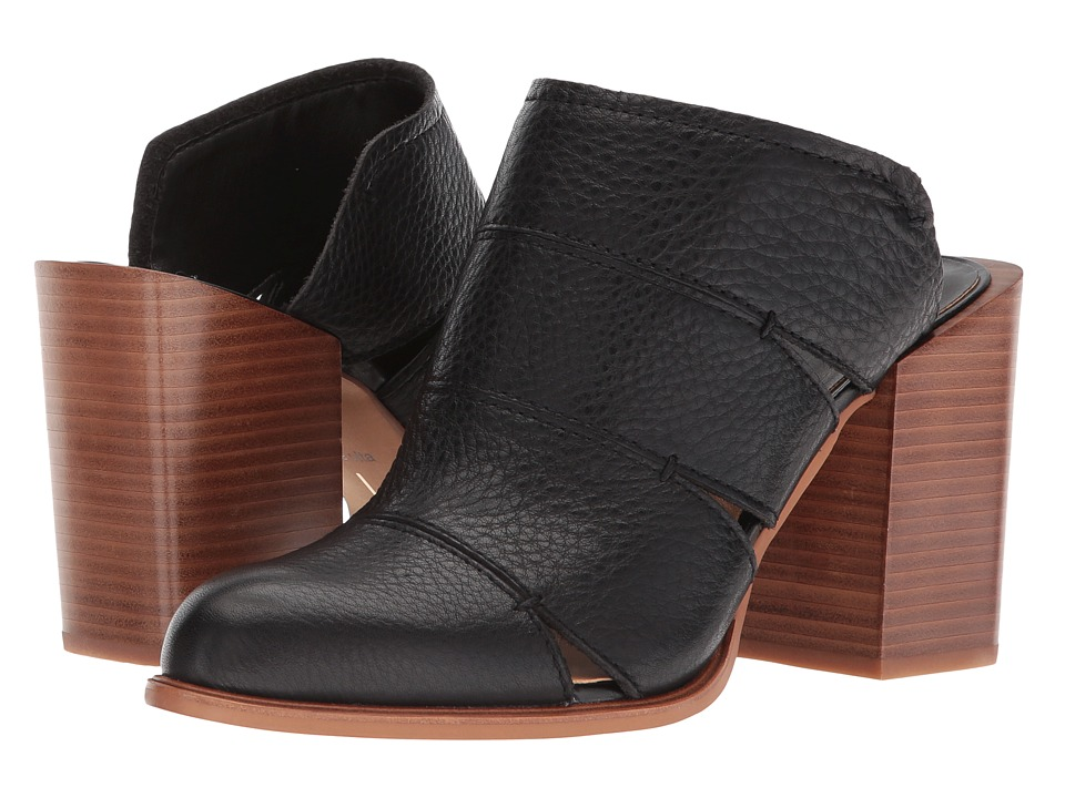 Dolce Vita - Makeo (Black Leather) Womens Shoes