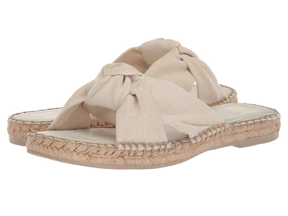 Dolce Vita - Benicia (Off-White Linen) Womens Shoes