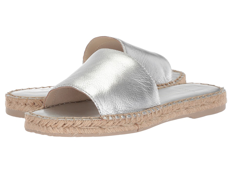 Dolce Vita Bobbi (Silver Leather) Women's Shoes