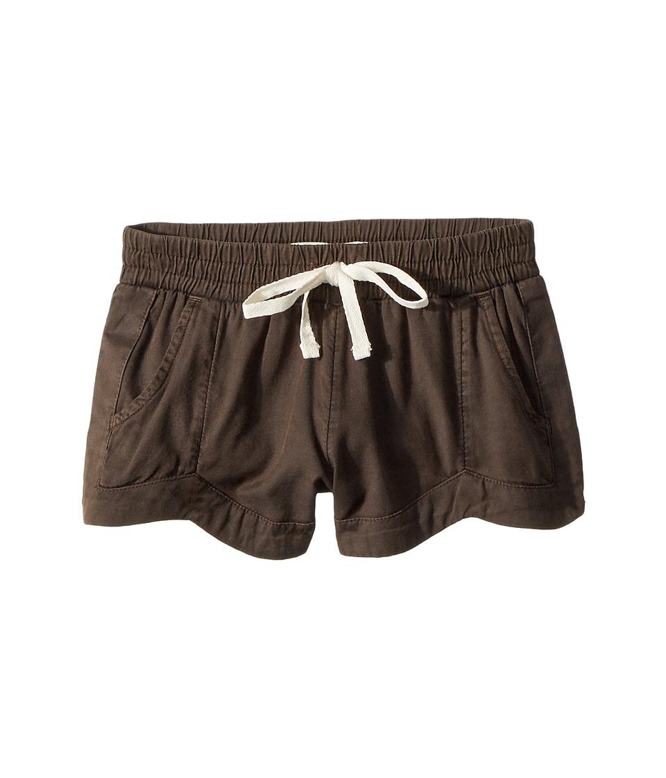 Billabong Kids - Mad For You Shorts (Little Kids/Big Kids) (Black) Girls Shorts