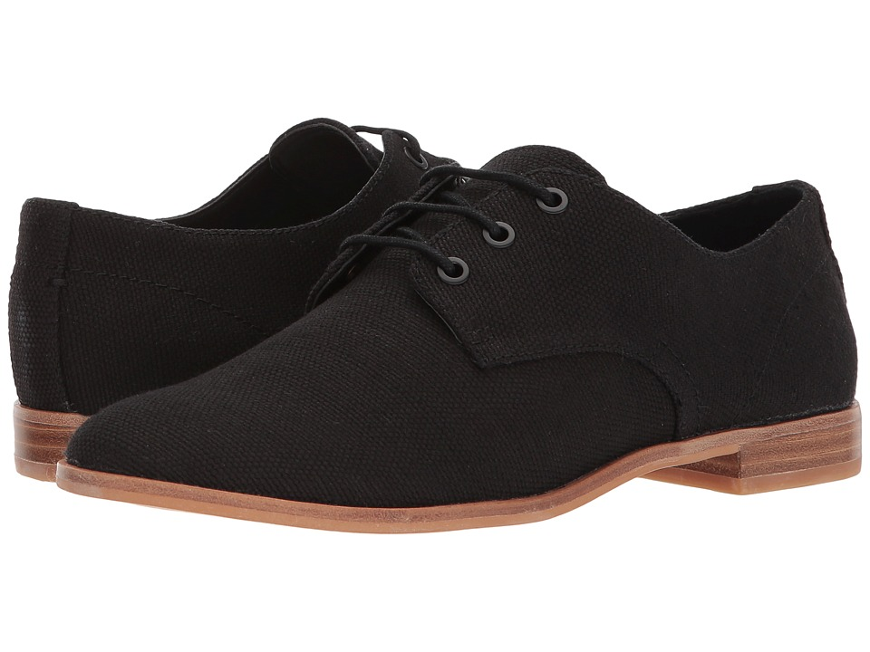 Dolce Vita - Pixyl (Black Linen) Womens Shoes
