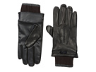 Ted Baker Ted Baker Quiff Ribbed Cuff Leather Gloves