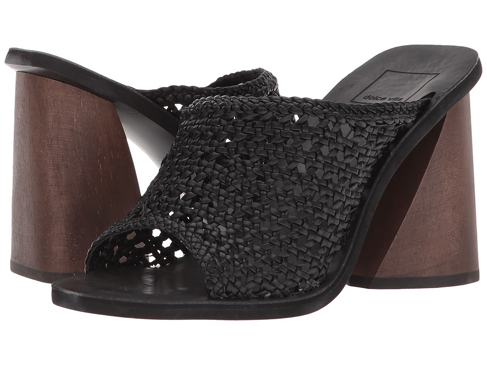 Dolce Vita - Anton (Black Woven) Womens Shoes