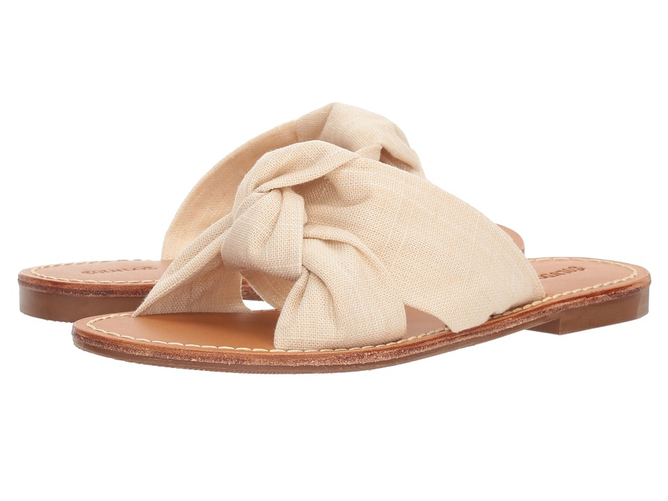 Soludos Knotted Slide Sandal (Blush) Sandals