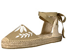 Soludos Soludos Embroidered Floral Sandal